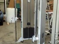 The Life Fitness 91Xi elliptical crosstrainer is a