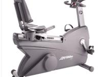 Lifefitness 95RI industrial recumbent bike selling.