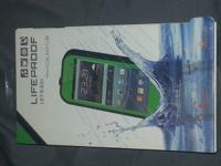 New in box, green Lifeproof case, bought for my Galaxy