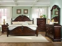 Lifestyle Canopy Bedroom Group *Hardwood construction
