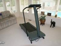 Lifestyler 8.0, 1.5 hp motorized treadmill Auto