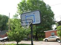 used basketball hoop. contact  Location: Salem OH.