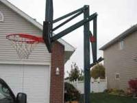 Lifetime Portable Basketball Hoop 50 inch glass