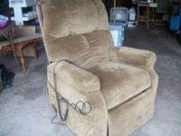 FOR SALE- LIFT CHAIR- excellent condition, only