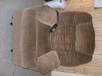 Lift chair in good condition also reclines. Color is