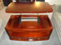 I have a gorgeous lift-top coffee table for sale. I
