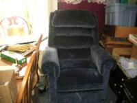 We have a blue lift chair in great condition it is