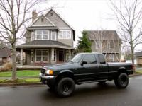 2004 FORD RANGER XLT 4 DOOR PICKUP TRUCK. (LIFTED) (3""