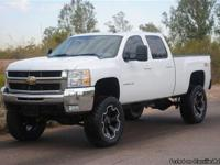 LIFTED 2007 CHEVY 2500HD CREW CAB SILVERADO LTZ. ONLY