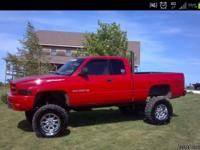 "01 dodge ram 1500, 152,000miles, 4x4, 12"" inches of"