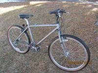light bike *specialized rockhopper* commuter bike ,it