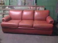 Excellent condition. 6 feet long. All Leather. Call .