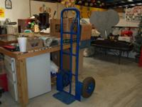 LIGHT DUTY HAND TRUCK IN GOOD CONDITION $28.00 BRING IN