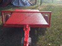 Nice light duty trailer for sale. This trailer is