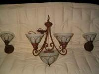 LIKE NEW LIGHT FIXTURES $40 FOR SET. PLEASE CALL