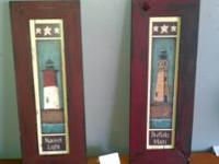 2 Light house picture in great shape, asking $20.00