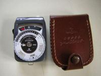 Gossen Super Pilot light meter in excellent condition.