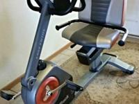 For sale lightly used Nordic Track Exercise Bike....