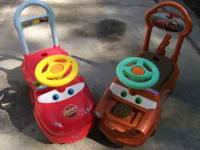 I have a Lightning McQueen and Mater toddler scooters