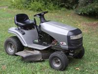 17.5 HP, 42? Mower with grass Mulcher, Electric start