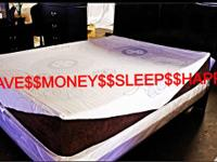 COOL GEL MEMORY FOAM MATTRESS  MATTRESS WAREHOUSE- NEW