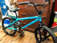 Up for sale is a baby blue 2006 GT Compe bmx bike. The