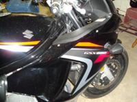 2008 Suzuki GSX 650 225 Miles. Perfect condition LIKE