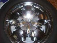 THIS IS A VERY NICE SET OF 17'' CHROME ARELLI BLING