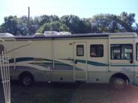 Barely used 1999 motorhome with only 33,000 miles. I