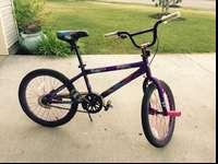 Like new bicycle, only used a few times. In great