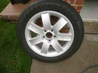 For Sale: Mounted Tire and Rim Both are like new used