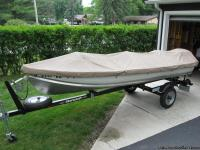 "2011 Smokercraft ""Canadian"" 14ft Aluminum Fishing Boat"