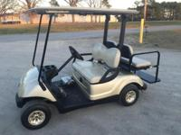 2011 Yamaha Drive 48V electric Golf Cart. Overall