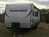 Like new 2014 Summerland Camper for sale! This