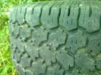 i have three 35x12.50x15 tires for sale like new only