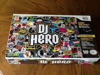 Like new dj hero video game for wii, game included. Be
