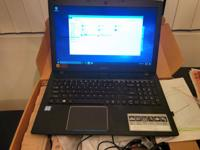 Selling this Acer E5-575-51GG laptop with an additional