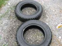 4 like new all season radial tires snowtracker
