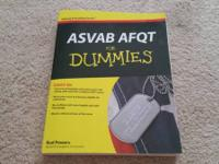 I have for sale a like new copy of the ASVAB book for