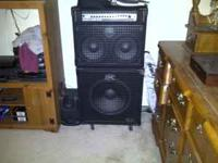 I am selling a GK amplifier 300 watt combo with tilt