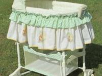 For Sale ... a Like New Bassinet with Winnie-the-Pooh