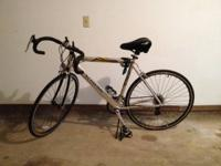 $175 schwinn roadway bike with memory foam seat and
