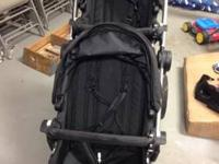 Like new black City Select Stroller with second seat.