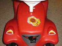 Like NEW Bobby Car ride on scooter type toy only been