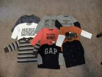 Like new 2T boys clothes $50.00 for everything, text if