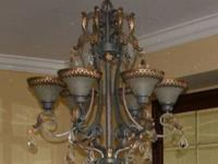 Moving Sale - Elegant Chandelier. From a non-smoker,