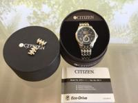 Hardly used Citizen Perpetual Calendar Eco-Drive watch