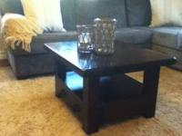 Like new solid wood coffee table. Asking $250 please