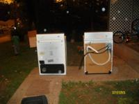Samsun, white front load washer just 3 years old. Works