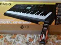 For Sale: Like New CTK-2400 Digital Keyboard. Played